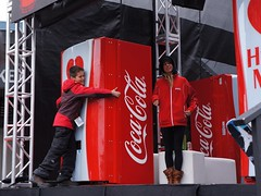 Coca Cola Hug Me Machine at WSSF