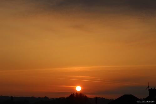 uk trees sun silhouette clouds sunrise canon landscape astrophotography worcestershire bromsgrove 600d