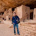 me at mesa verde by Sam Scholes