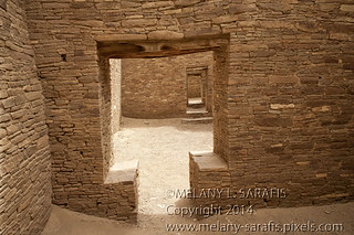 T-Shaped Door in Pueblo Bonito
