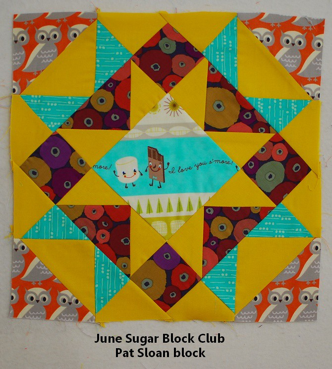 pat sloan june sugar block club