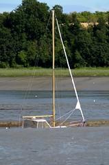 holed boat