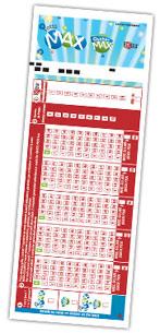 Lotto QuebecMAX Kupon Görüntüsü