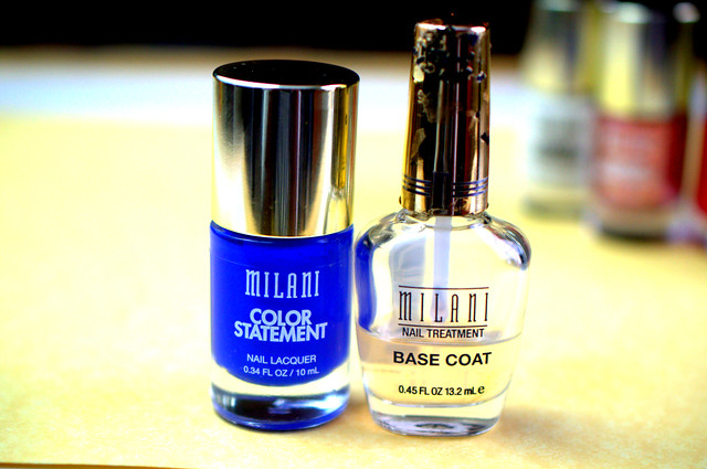 Milani Color Statement vs Nail Lacquer