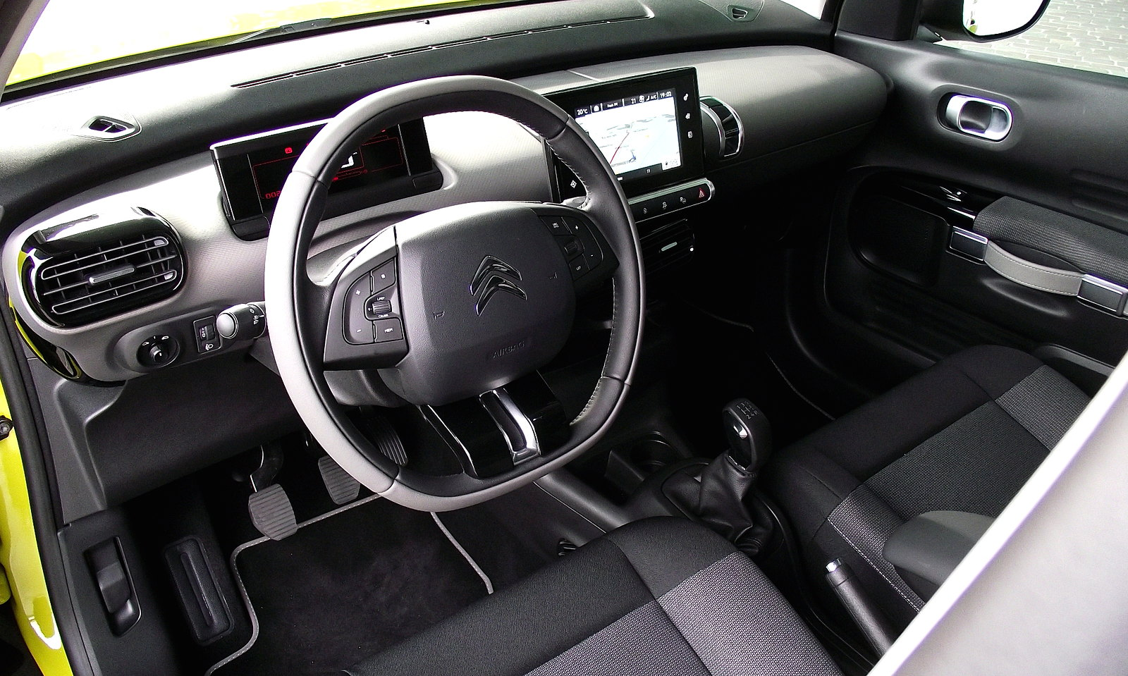 2014 citroen c4 cactus feel edition puretech e thp 110 interieur innenraum cockpit flickr. Black Bedroom Furniture Sets. Home Design Ideas