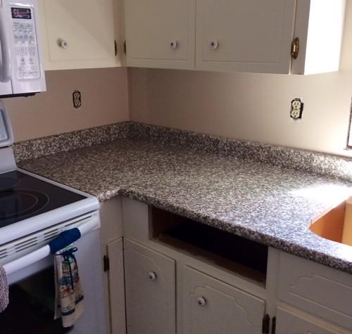 Countertop installed