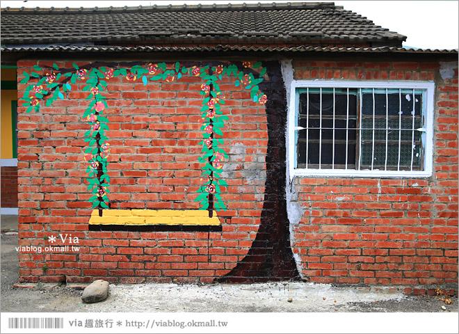 【新港童話村/青蛙彩繪村/北崙彩繪村】有聖誕老公公的繽紛彩繪村!超多主題好歡樂~50