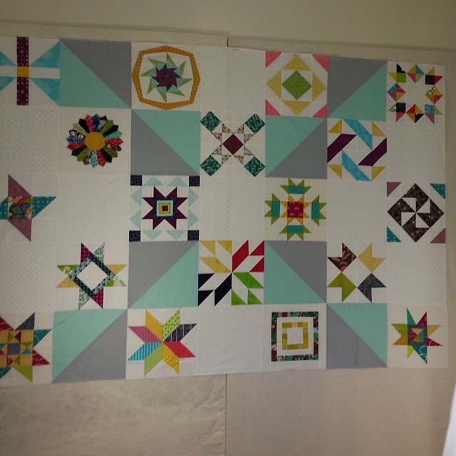 #havendgs #dogoodstitches quilt top
