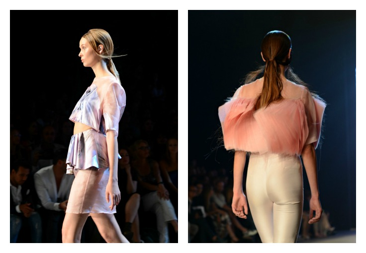 Collage Dorhout Mees, Fashion Week Amsterdam 2014 ( pink)
