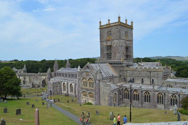 This is a picture of St David's in Wales.
