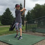 Driving range, first time