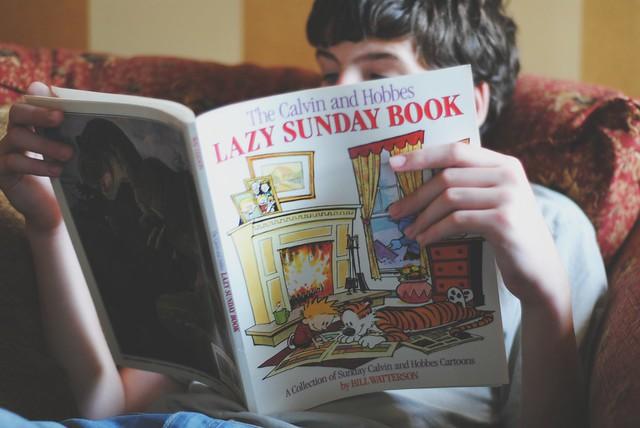 nephews - reading time