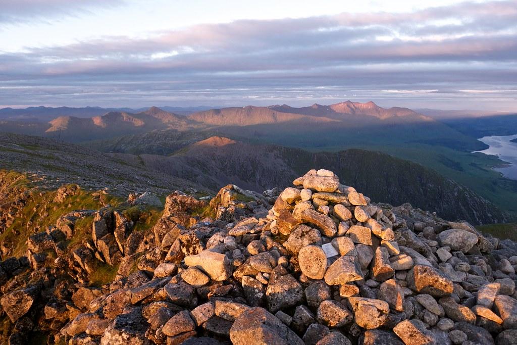 Ben Cruachan hills from Ben Starav