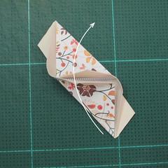 วิธีการพับลูกบอลกระดาษญี่ปุ่นแบบโคลเวอร์ (Clover Kusudama)008