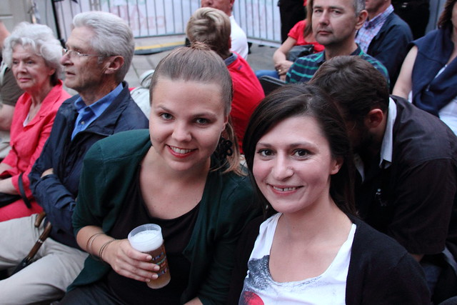 Jenni & Alexandra at Open Air Cinema