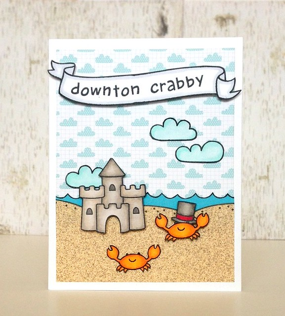 downton crabby card - ls