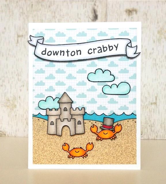 downton crabby card - ls