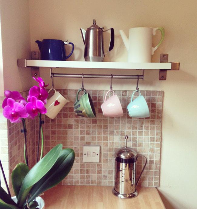 making-a-coffee-tea-nook