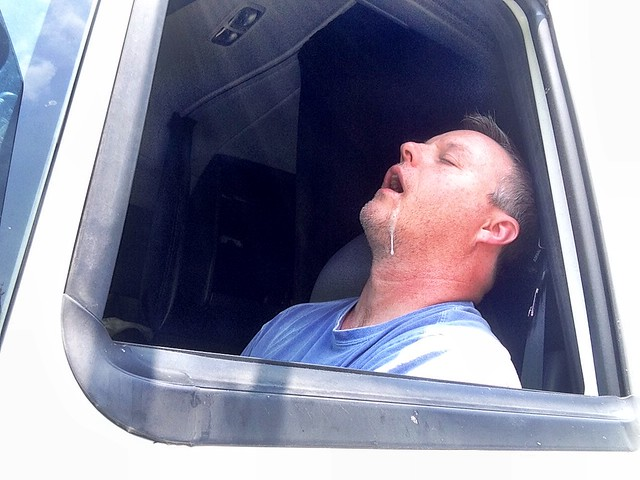 Drooling Trucker
