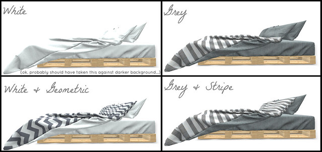 Texture Options for ARIA's Imogen Bed