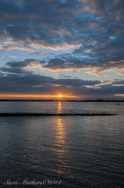 Sunset Malahide Estuary....