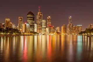 Brisbane CBD Night