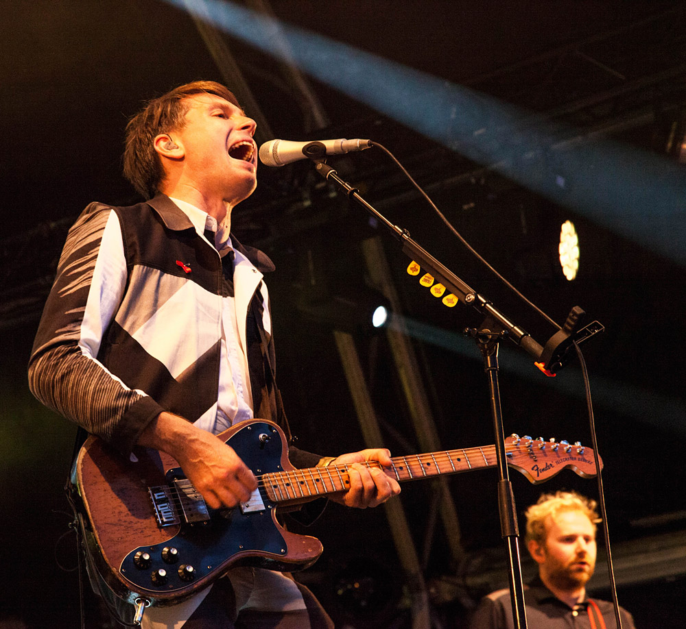 Franz Ferdinand @ Somerset House, London 16/07/14