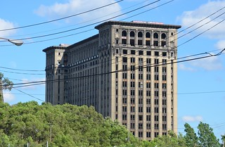 Detroit - Michigan Central from Michigan and 18th - July 8, 2014  (1)