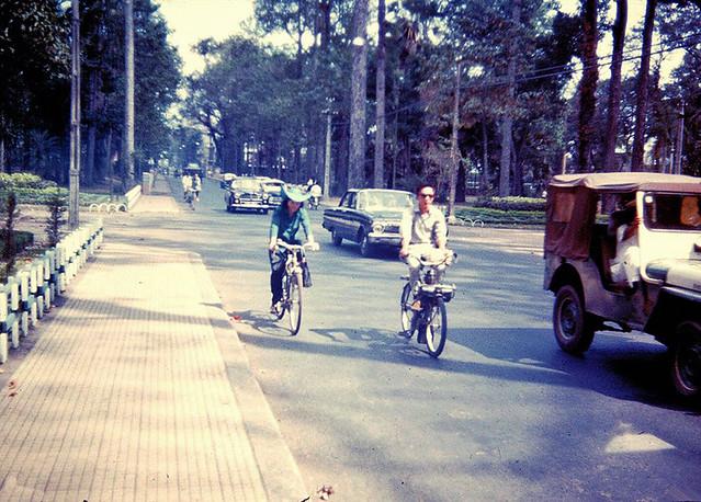 SAIGON 1966- Truong Cong Dinh Street