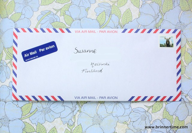 airmail, outgoing