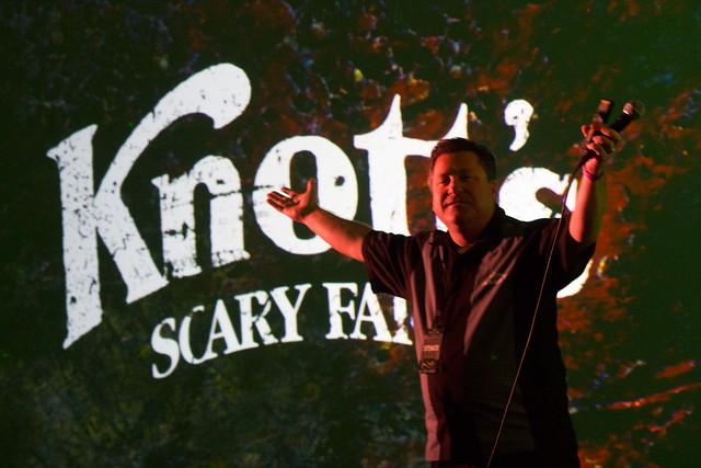 Knott's Scary Farm 2014 panel at ScareLA