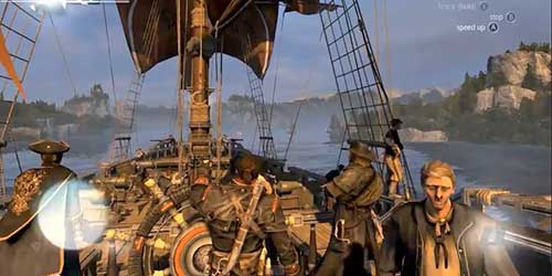 Assassin's Creed Rogue: River Valley Location