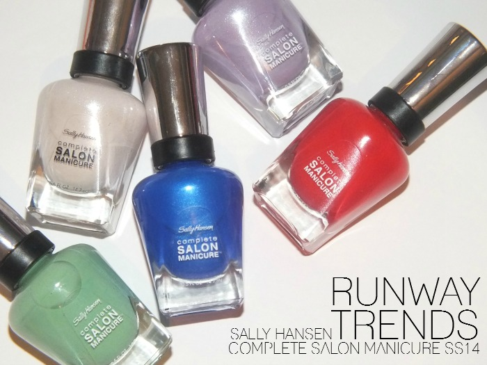 SALLY HANSEN complete salon manicure runway trends 2014 (10)