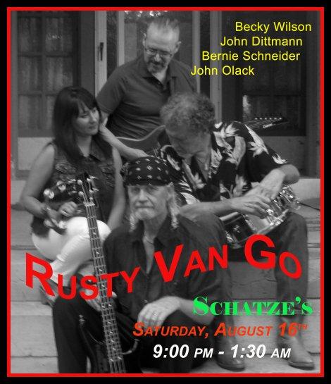 Rusty Van Go 8-16-14