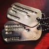 My Grandfather Deason's dogtags...