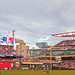 Target Field Panorama with a rainbow during the 2014 All-Star Home Run Derby