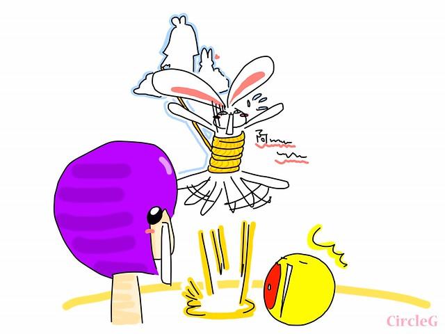 CIRCLEG 住在月亮的外星兔 中秋做乜好 加菲貓 放鬆一下立體相館 3D 相館 (5)