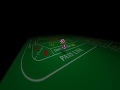 Craps Dice Animation using Blender...