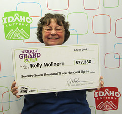 Kelly Molinero – $77,380 Weekly Grand