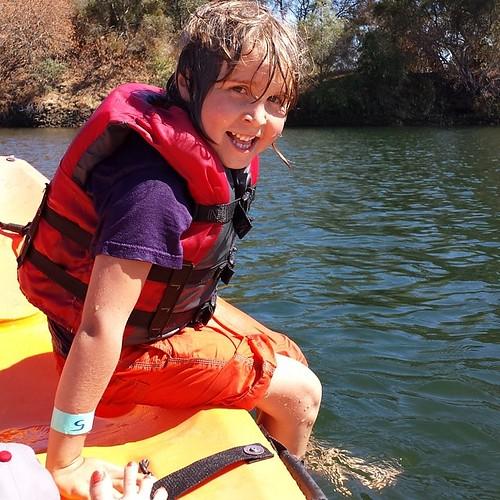 Kayaking!  #summer #boys #7yearold #secondgrader