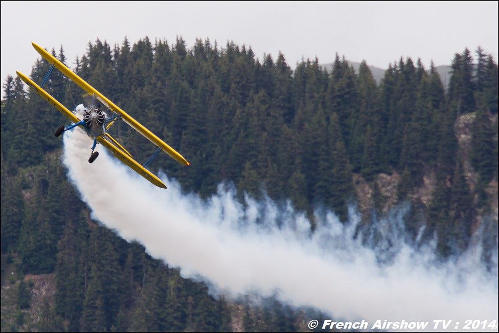 PT-17 Stearman Roanne Dodane 1857 courchevel 2014