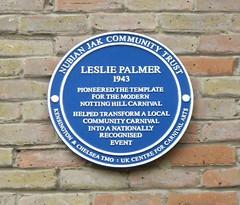 Photo of Leslie Palmer blue plaque