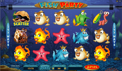 Fish Party slot game online review