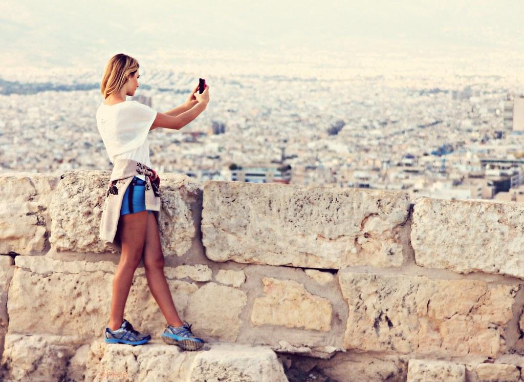 Selfie in Acropolis