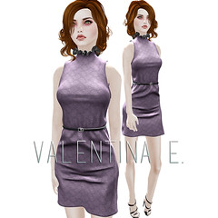 Valentina E. Rosalind Sleeveless Dress For FaMESHed!