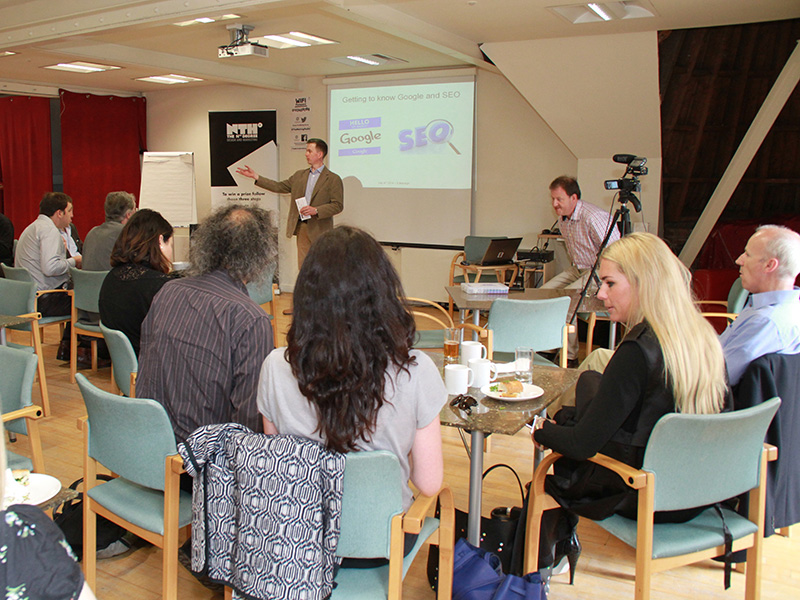Google and SEO seminar at The Melting Pot, Edinburgh