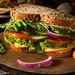 Healthy Vegetarian Veggie Sandwich