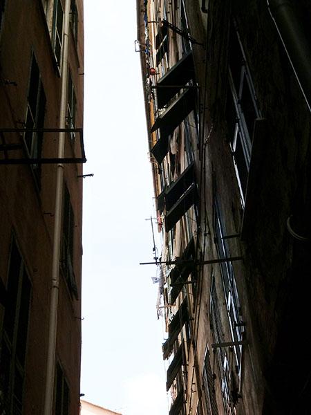 persiennes à Gênes
