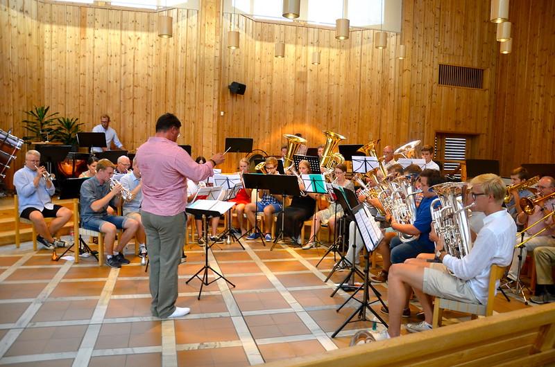 Brassbandet - Sommarmusikskola 2014