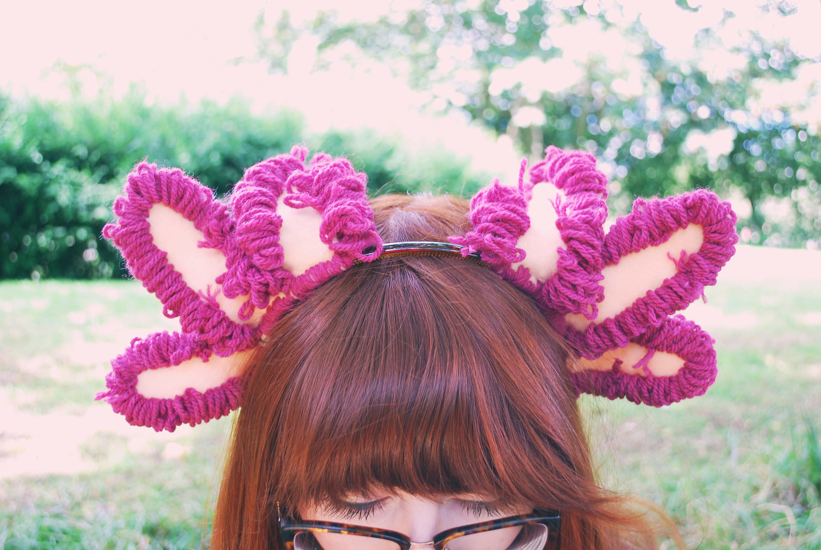 axolotl hair band